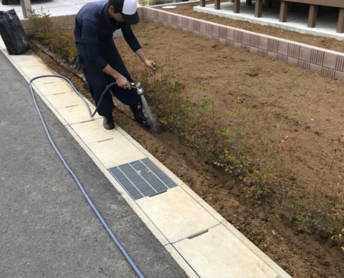 生垣 植込み 植栽 植樹 造園業者 さいたま市 春日部市